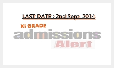 XI-Grade Admission Date Extended