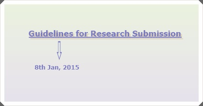 Guideline to Research Submission