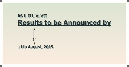BS Result Announcement Postponed