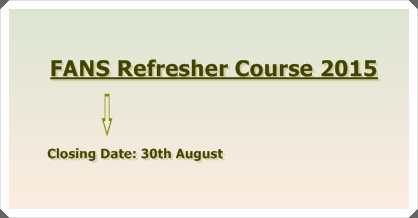 FANS Refresher Course 2015