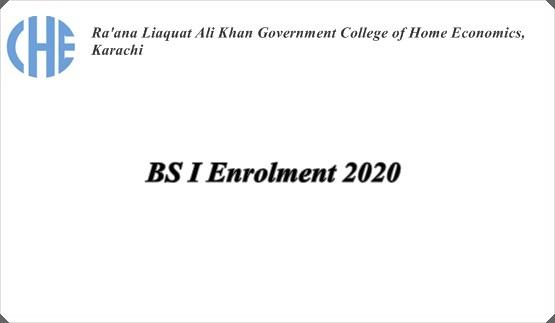 BS Enrollment Form 2020