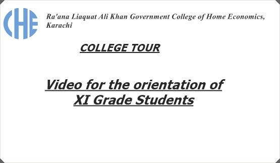 College Tour: Video for the Orientation of 11th Grade Students