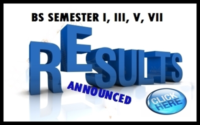 BS-Exam Results – January to May 2014 Term