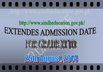 Admission Date for Grade XI Extended