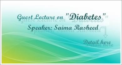 Guest Laecture: Diabetes