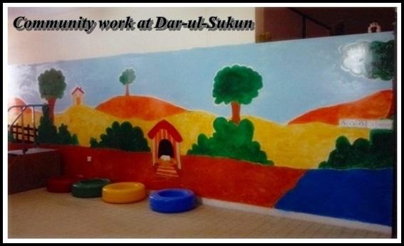 Community work at Dar-ul-Sukun