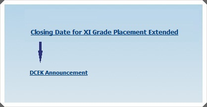 Extension in Closing Date for Placement Forms
