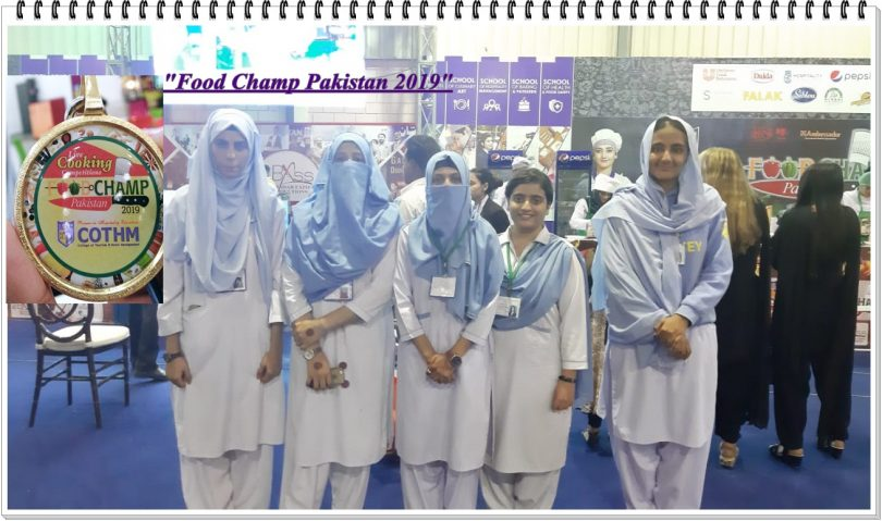 "Participation of RLAK CHE Students in ""Food Champ Pakistan 2019"" at Expo Center"