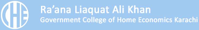 Rana Liaqat Ali Khan Government College Of Home Economics Logo